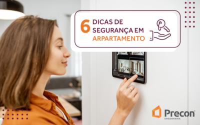 6 dicas de segurança em apartamento