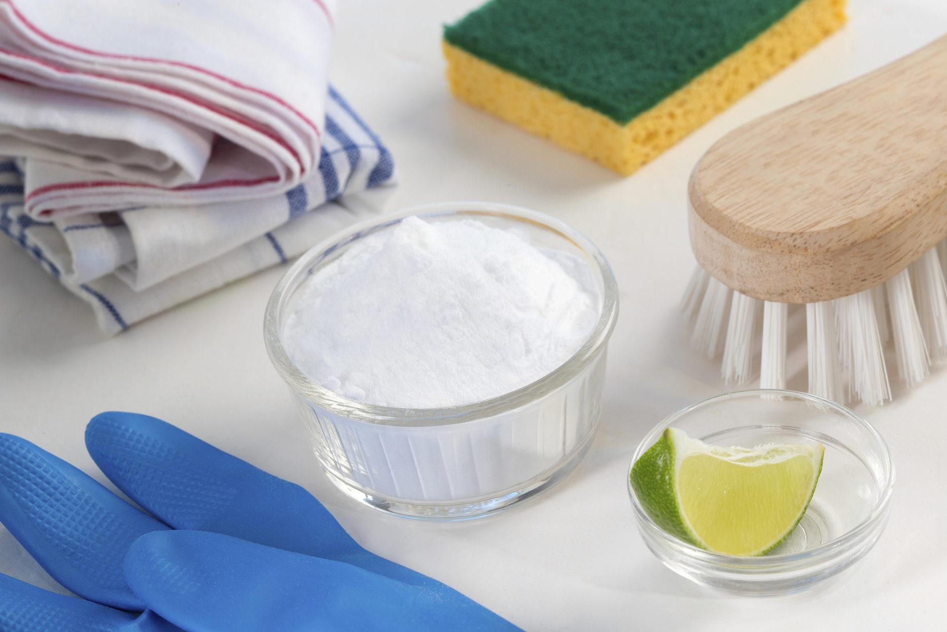 4 usos do bicarbonato de sódio na limpeza da casa