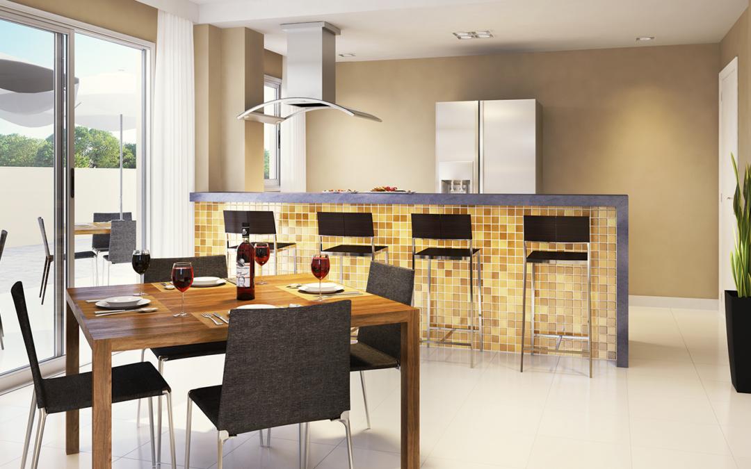 Decore seu apartamento com estilo e economia, adote os tijolos de vidro