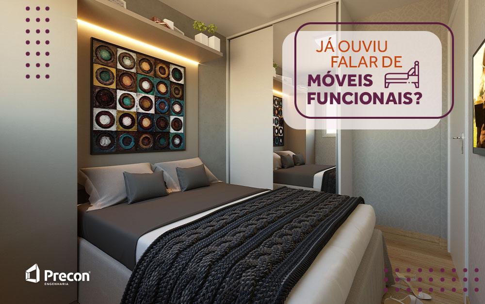 Já ouviu falar de móveis funcionais?