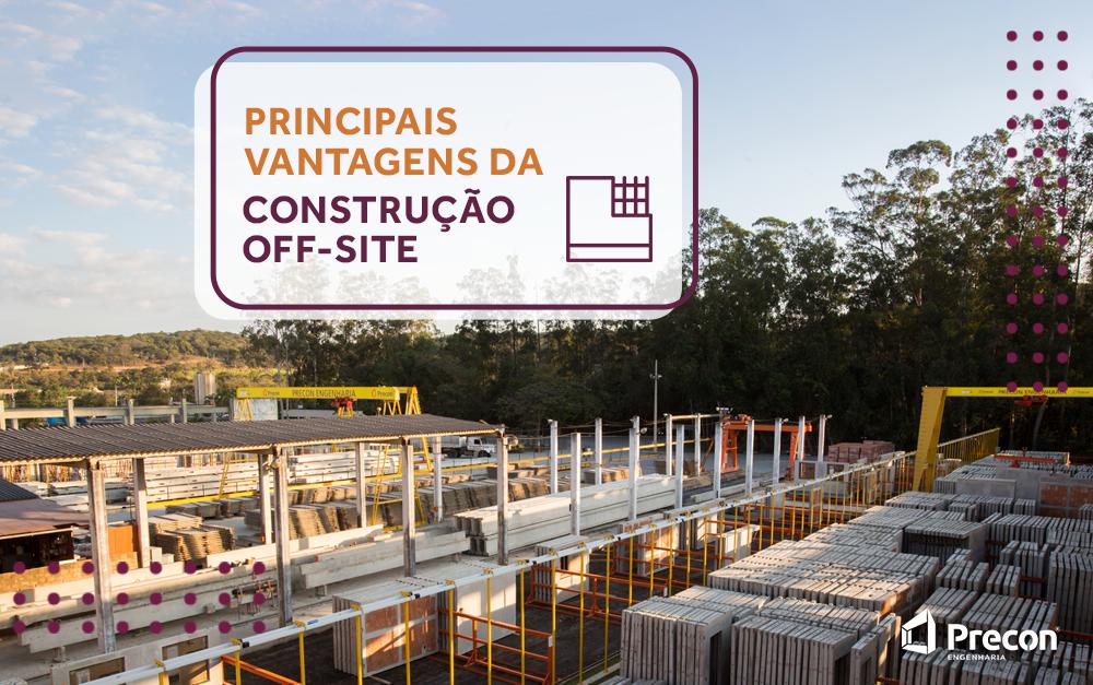 Principais vantagens da construção off-site
